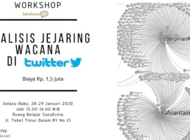 Workshop Analisis Jejaring Wacana di Twitter