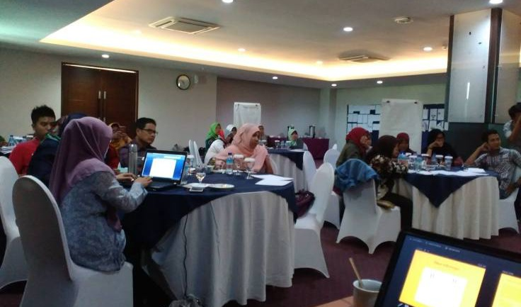 SatuDunia Gelar In House Training Knowledge Management di Mataram